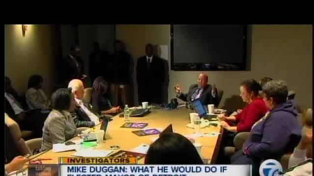 Mike Duggan: What he would do if elected mayor of Detroit