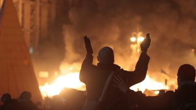 At Least 25 Killed in Ukraine Protests