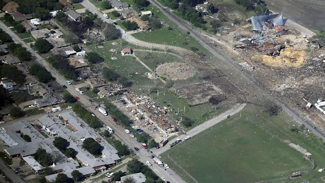 1 YEAR SINCE WEST, TX EXPLOSION