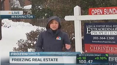Freezing real estate