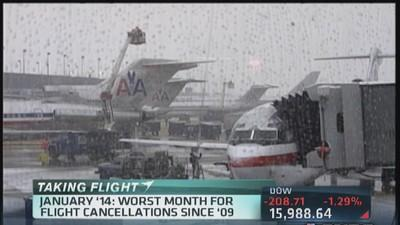 Lousy January for airlines