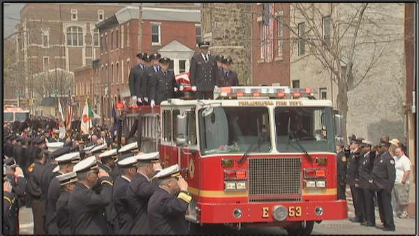 City mourns fallen Philadelphia firefighter Michael Goodwin (PHOTOS)