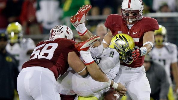 RADIO: Formidable front seven sets tone for Stanford