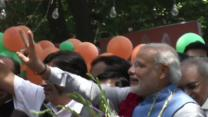 Raw: Victory Lap for India's Next PM