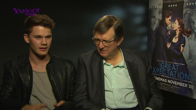 - Jeremy Irvine on working with Ralph Fiennes in Great Expectations