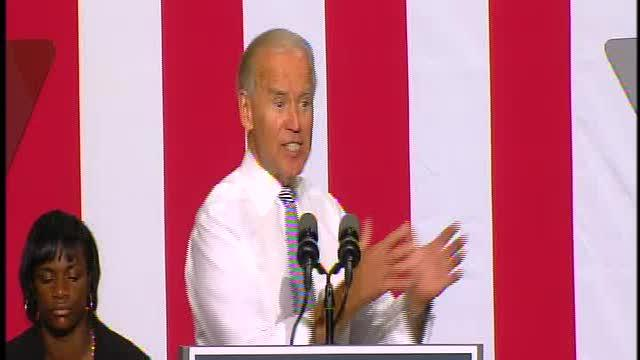 Vice President Joe Biden speaks in Detroit, part 2