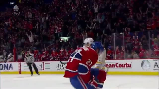 Canadiens tally twice in 23 seconds