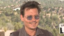 Johnny Depp Talks Inspiration For Tonto In 'The Lone Ranger'