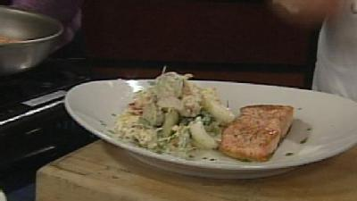 Making Meals With Marcus Restaurants: Pan Roasted Atlantic Salmon