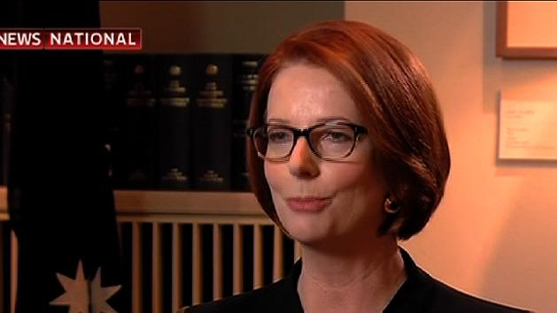 Julia Gillard announces spill