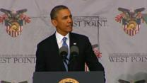 Obama Defends Policy in Speech at West Point