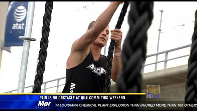 Pain is no obstacle at Qualcomm this weekend