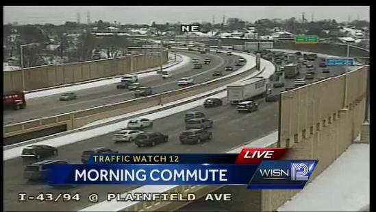9 am TrafficWatch update - Slow travel on the roads