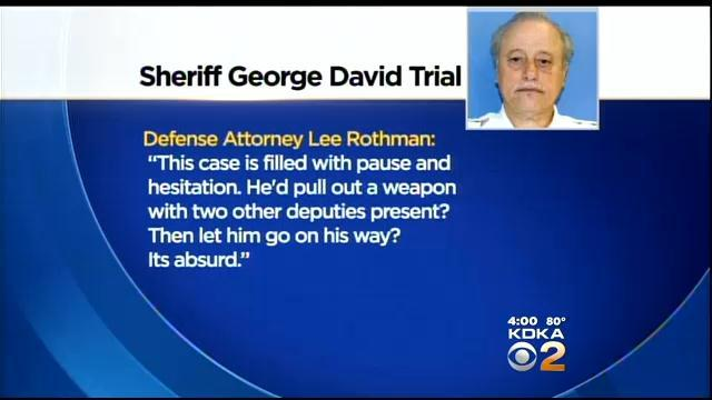 Closing Arguments Finish In Trial Of Beaver County Sheriff