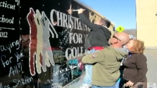 Oklahoma church sends donations to Newtown
