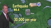 Noon: Canadian earthquake felt in NE Ohio