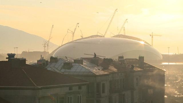 Sochi venues take shape ahead of Winter Olympics