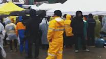 Families Gather to Wait for News About Loved Ones on South Korea Ferry