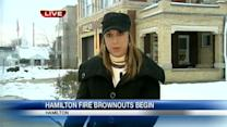 Hamilton fire brownouts begin this week