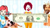 Fast Food Chains Beef-Up Dollar Menus