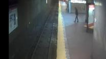Woman Rescued from Boston Rail Tracks