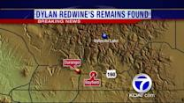 Found remains identified as Dylan Redwine