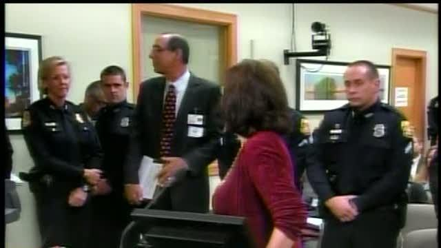 Police honored for stopping Freedom High bomb attempt