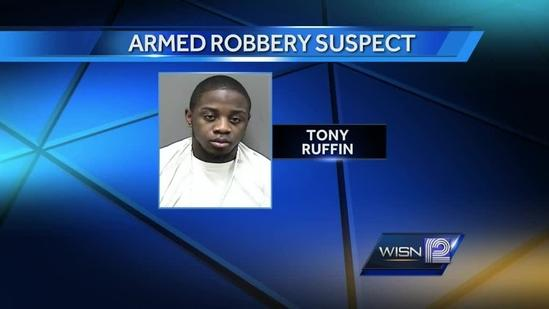 Racine police searching for robbery suspect