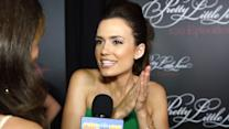 "Torrey DeVitto Shares Craziest ""A"" Theory & PLL Memory - Pretty Little Liars 100th Episode Party"