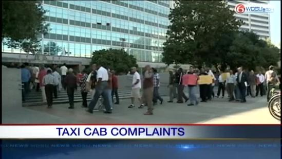 Attorney for Taxi Industry files complaint