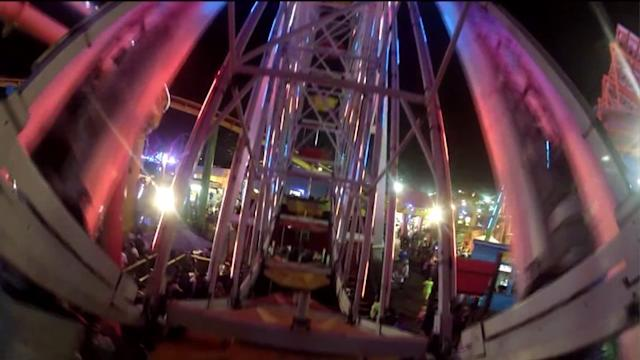 Ferris Wheel Riders Experience Power Outage at Santa Monica Pier