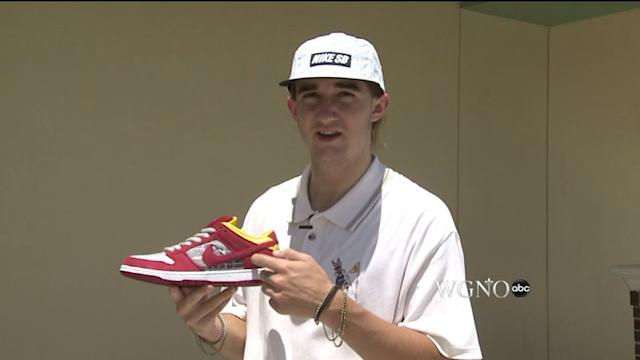 College Student Designs Louisiana-Themed Nike Shoes, And They`re A Hit