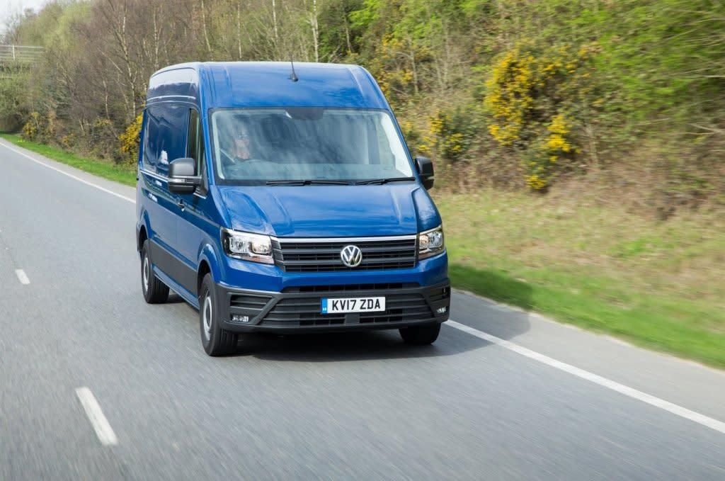 英國VW商用車全車系安裝AEB,每年減少2500起碰撞事件