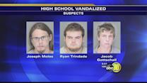 3 men face felony vandalism charges at Atwater HS