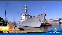 Two guided-missile destroyers return to San Diego