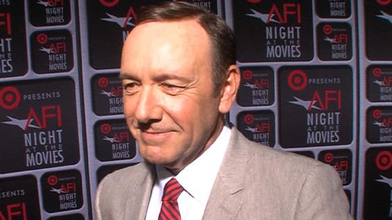 Kevin Spacey Dishes On 'Embarrassing' Oscar Speech