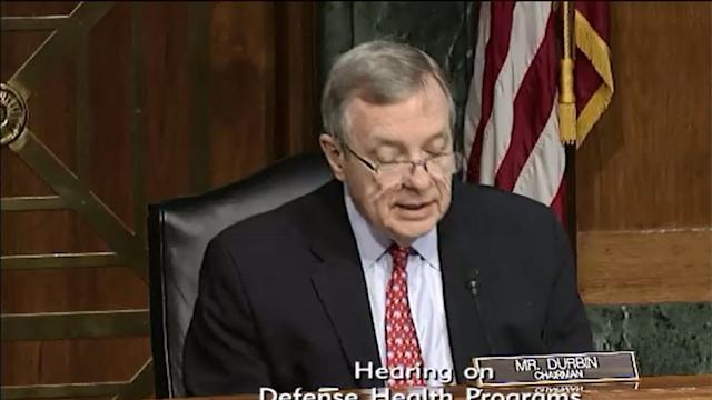 Durbin focuses on mental health issues in military