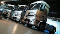 【新車速報】德國柯博文現身!Mercedes-Benz最強商用重車Actros強勢上陣!