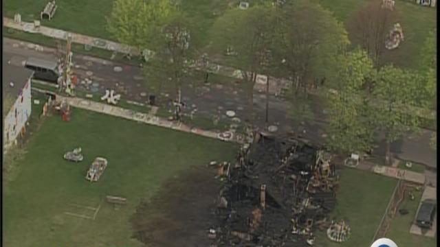 Heidelberg Project home burns