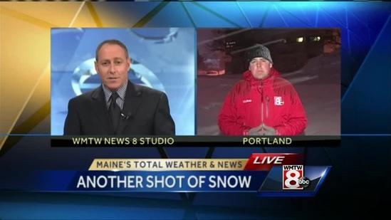 Snow business continues in storm