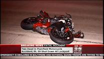 Biker And Pedestrian Killed In Motorcycle Crash In Plainfield