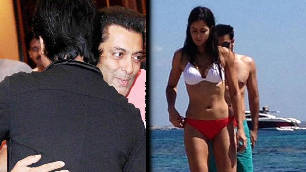 Best Of The Week-Salman Hugs SRK, Katrina spotted in Bikini with Ranbir and More Hot News