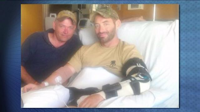 Wounded Soldier Walks 60 Miles To Raise Money For Other Vets