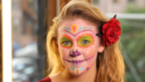 See a Colorful Take on Dia de los Muertos Makeup