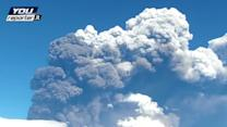 Italy's Mount Etna spews ash