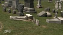 Vandals Hit Cemetery, Cause $25,000 In Damage