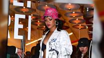 Rihanna supports best friend Melissa Forde at New York launch event
