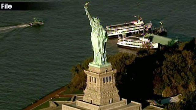 Growing up in the shadow of the Statue of Liberty