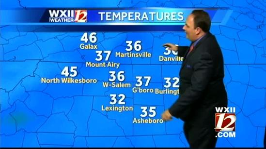 Nice and warm afternoon in the Triad