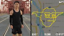 GPS Art: Athletic Picassos Produce Digital Drawings